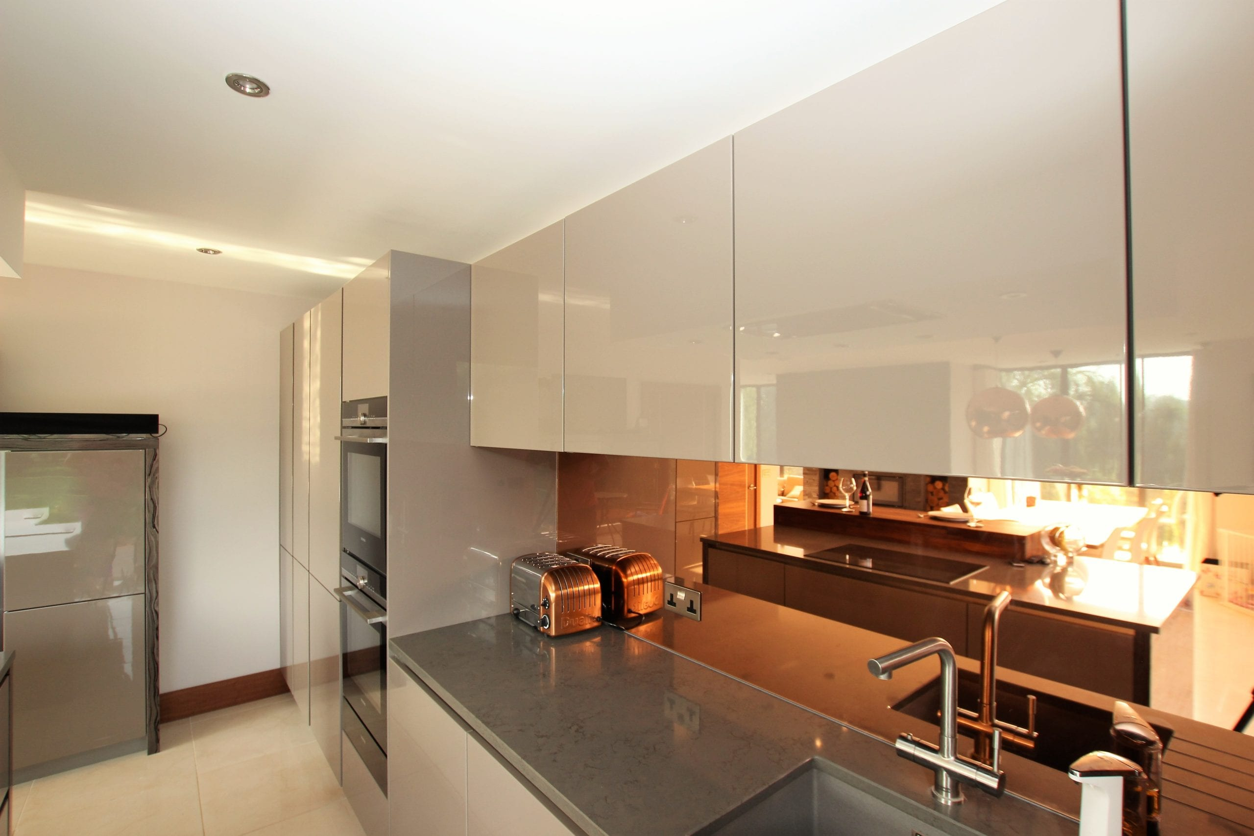 16. Bronze mirror splashback scaled | Qudaus Living, Sutton Coldfield