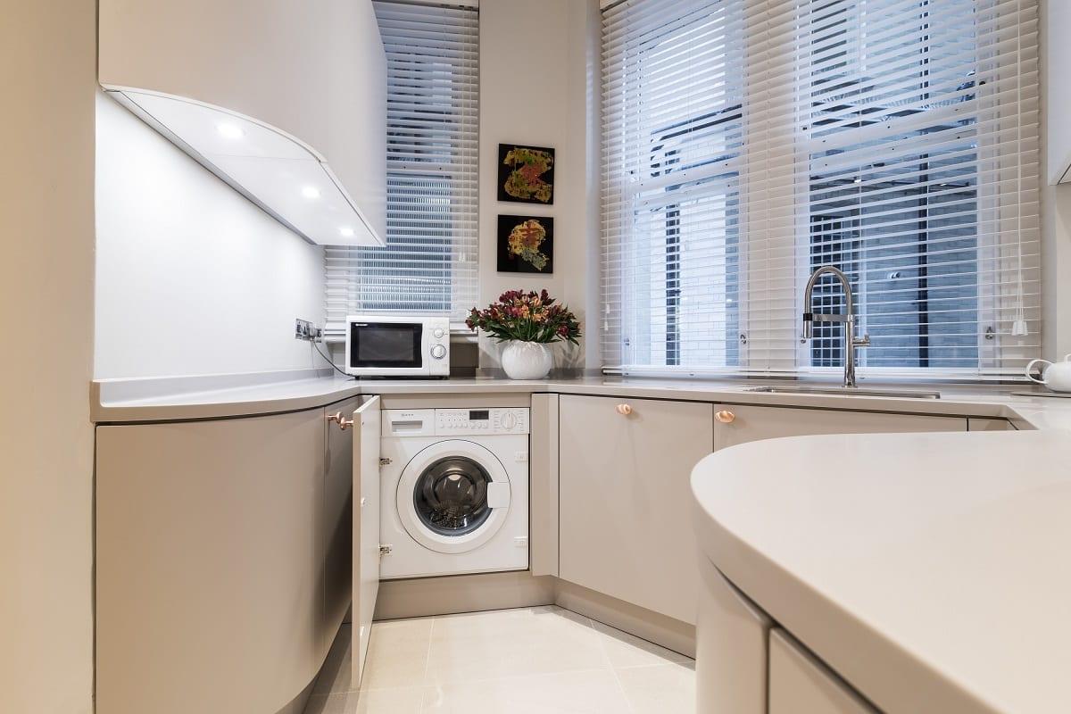 Neff Integrated washing machine | Qudaus Living, Sutton Coldfield