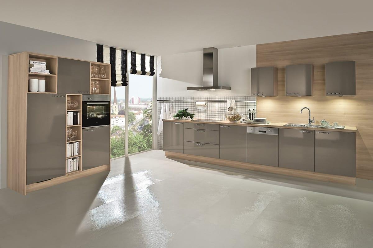 3. Basalt Grey high gloss kitchen in laminate finish 1200 | Qudaus Living, Sutton Coldfield