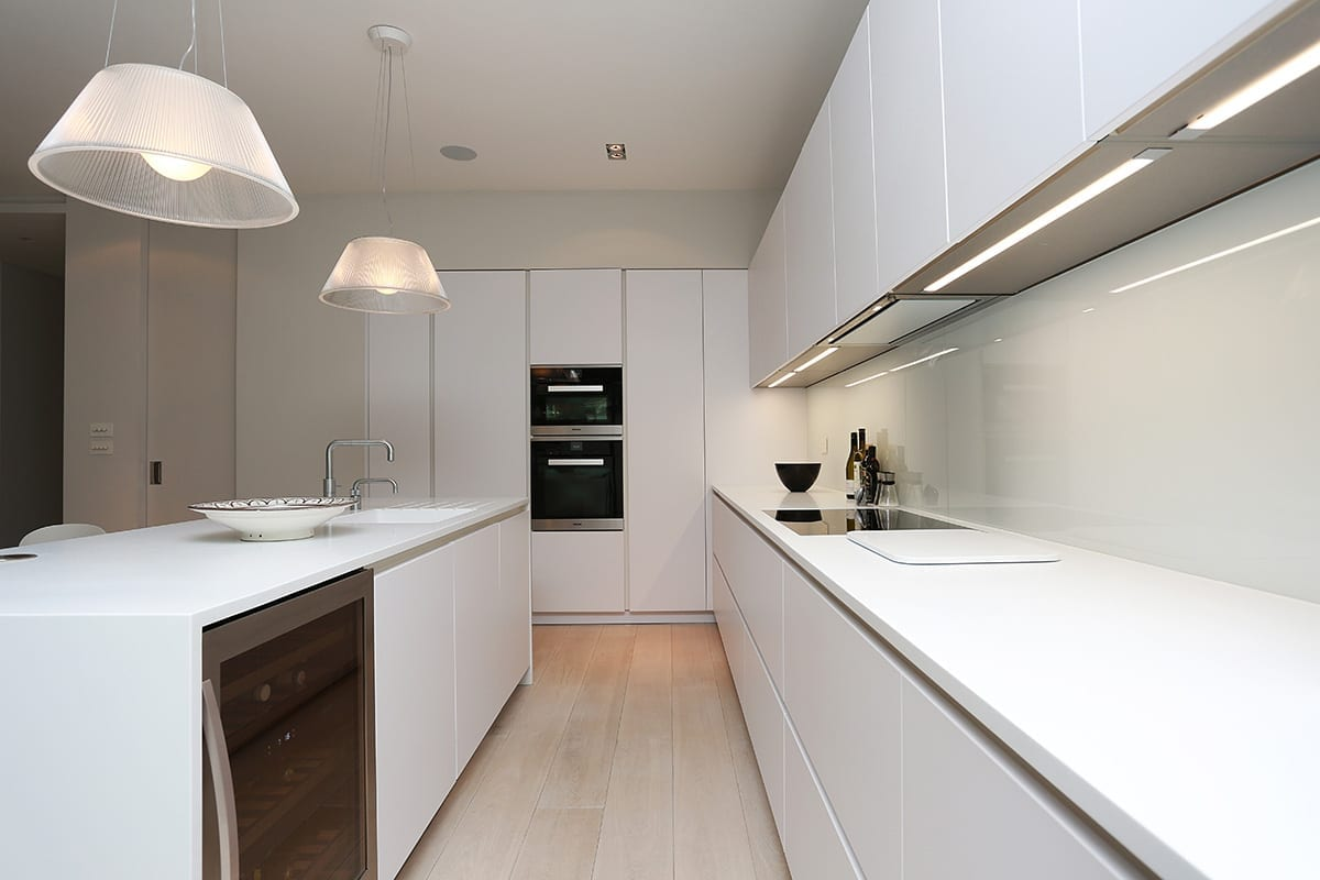 Under cabinet strip LED Lighting | Qudaus Living, Sutton Coldfield