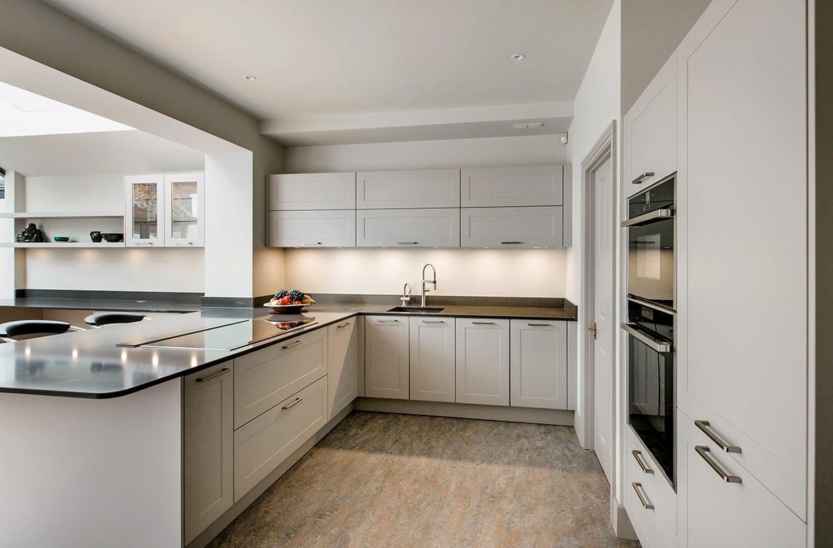 Cashmere Shaker kitchen design | Qudaus Living, Sutton Coldfield