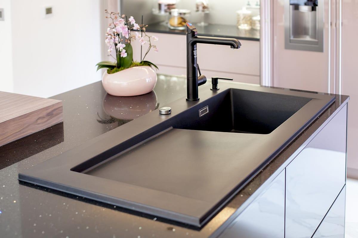 Zip Tap Blanco Silgranit sink Soap Dispenser | Qudaus Living, Sutton Coldfield