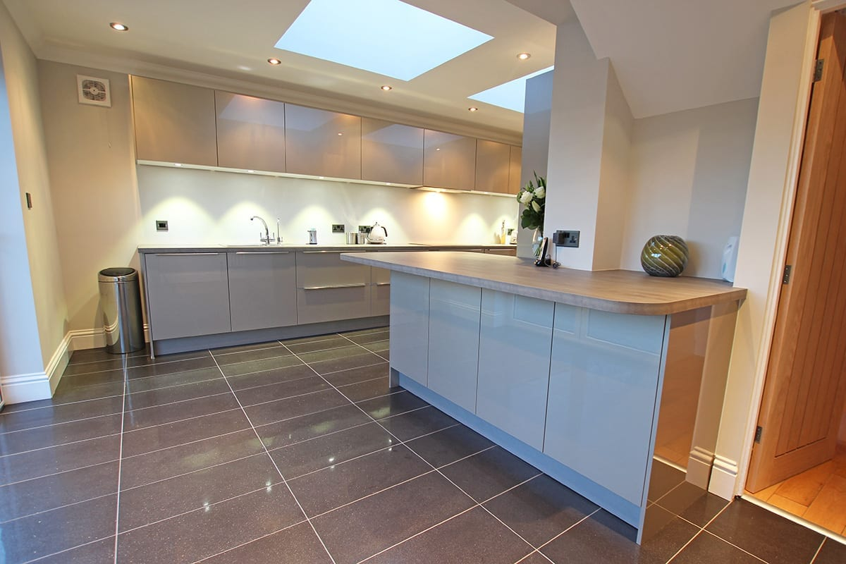 Luxury Laminate Worktop With Curves   Qudaus Living, Sutton Coldfield